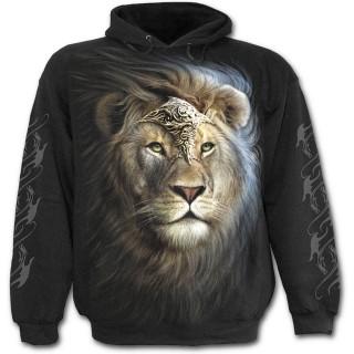 9faaf818e10 Achat Sweat-shirt à capuche homme avec Lion en armure pas cher