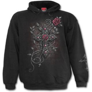 802d96edbb20 Achat Sweat-shirt gothique homme avec jeune femme religieuse