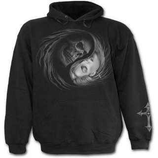 Sweat-shirt gothique homme avec la Mort emportant une jeune femme