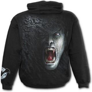 Sweat-shirt gothique homme avec vampire des ombres