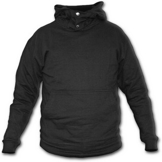 "Sweat-shirt gothique homme à col kangourou style ""METAL STREETWEAR"""