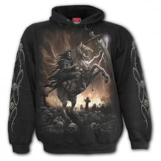 Sweat-shirt homme à chevalier de la Mort avec sa faux