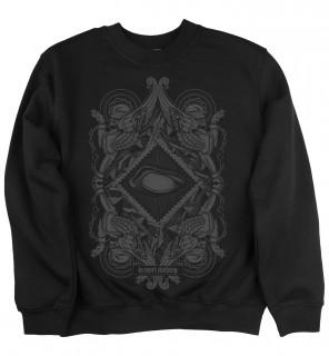 Sweat-shirt homme gothique Blind (C/B) - LA Mort Clothing