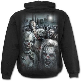 Sweat-shirt homme Walking Dead officiel à Horde zombie