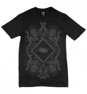 T-shirt gothique homme Blind (C/B) - LA Mort Clothing