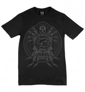 T-shirt gothique homme Poisoned Frog (C/B) - LA Mort Clothing