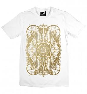 T-shirt homme Four Skulls (EG/W) - LA Mort Clothing