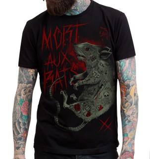 """T-shirt homme HYRAW modèle """"MORT AUX RATS"""""""