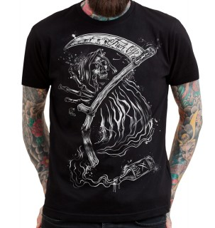 "T-shirt homme HYRAW modèle ""REAPING HOOK"""