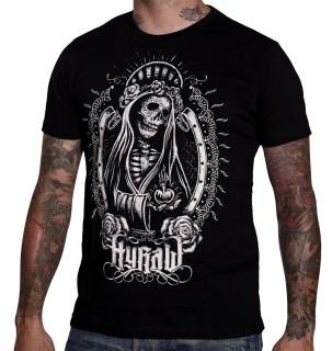 "T-shirt homme HYRAW modèle ""SANTA MUERTE"""