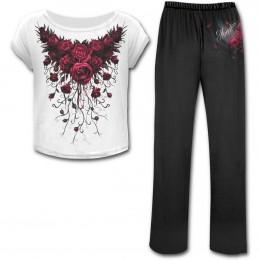 achetez ici votre pyjama gothique pour femme. Black Bedroom Furniture Sets. Home Design Ideas
