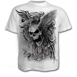 Vente t-shirt gothique à manches courtes pour homme 3418e3cb4dd3