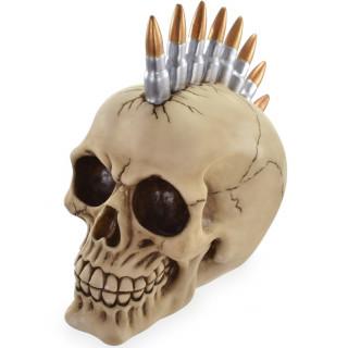 Tirelire crane à crête de balles de fusil - Nemesis Now