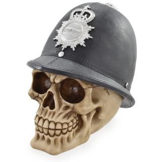 Tirelire crane de policier anglais