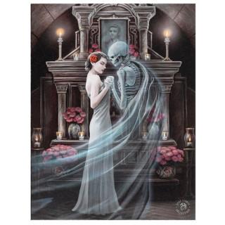 Toile canevas dance avec la mort - Anne Stokes (19x25cm)