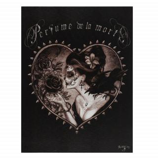 """Toile canevas """"Parfum de la mort"""" - Alchemy (19x25cm)"""