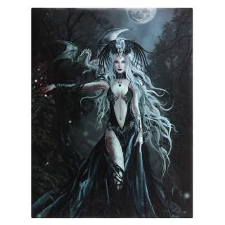 Toile canevas à prêtresse aux dragons - Nene Thomas (19x25cm)