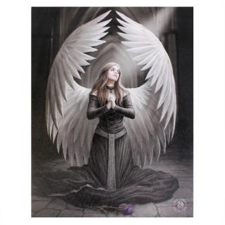 Toile canevas à Prière pour les morts - Anne Stokes (19x25cm)