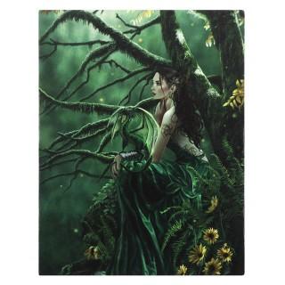 """Toile canevas """"Reine du destin"""" - Nene Thomas (19x25cm)"""