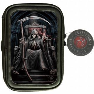 Trousse d'école effets 3D avec la Mort sur son trône - Anne stokes
